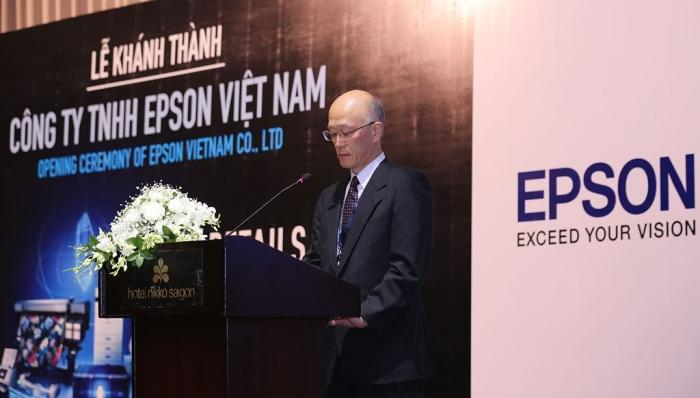 Thành lập công ty Epson chi nhánh Việt Nam