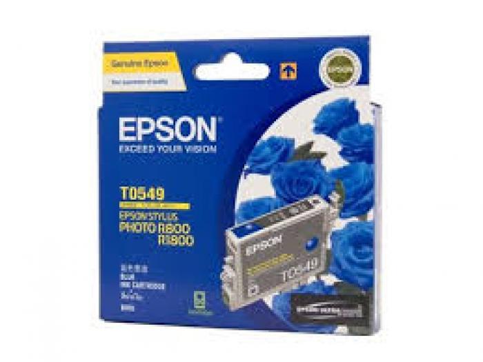 Mực in Epson T0549 - UltraChrome Hi-Gloss - Blue Ink Cartridge