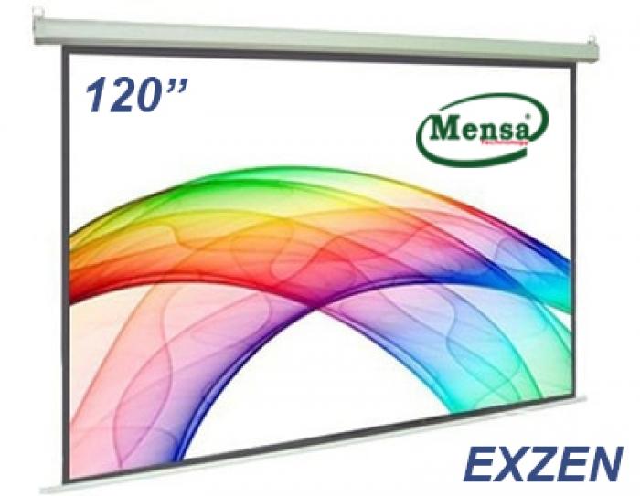 Màn chiếu treo tường EXZEN KOREA 120 inch (84' x 84')