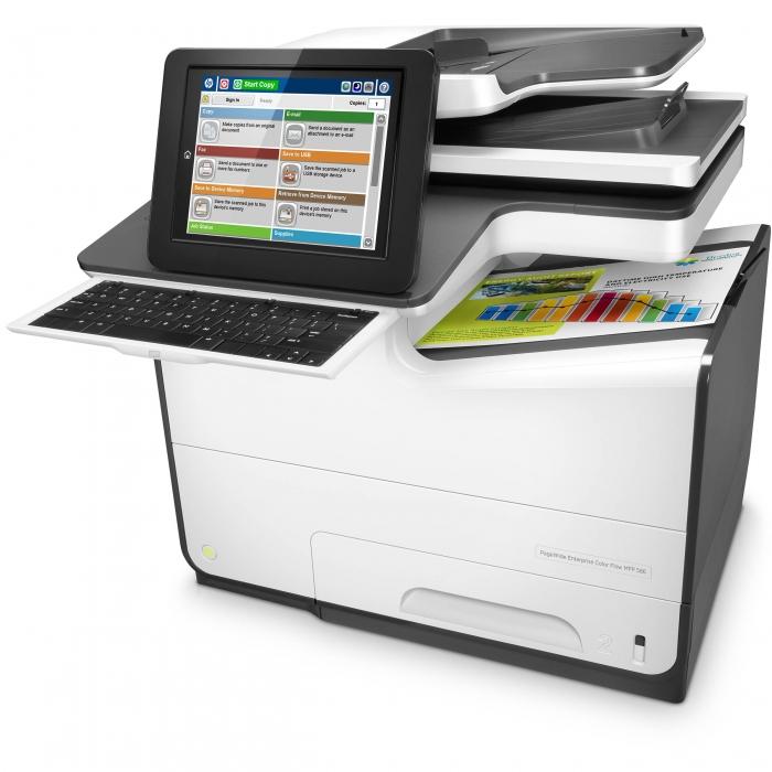 Máy in HP PageWide Enterprise Color Flow MFP 586z