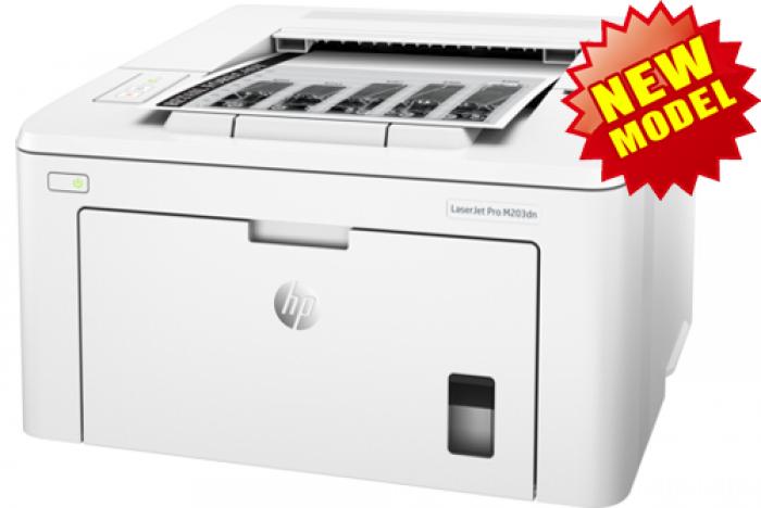 Máy in HP LaserJet Pro M203dn (In,Duplex,Network)
