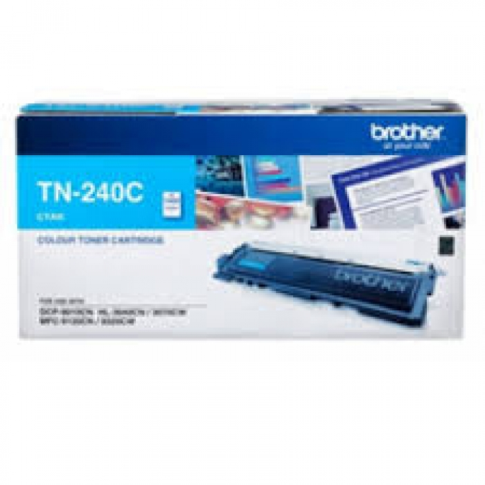 Mực in Brother TN 240 Cyan Toner Cartridge (TN 240C)