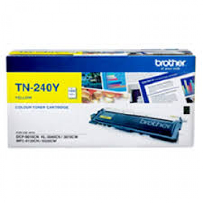 Mực in Brother TN 240 Yellow Toner Cartridge (TN 240Y)