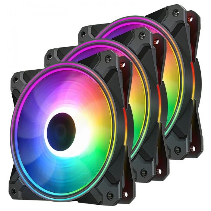 Fan case DEEPCOOL CF 120Plus A RGB -3F