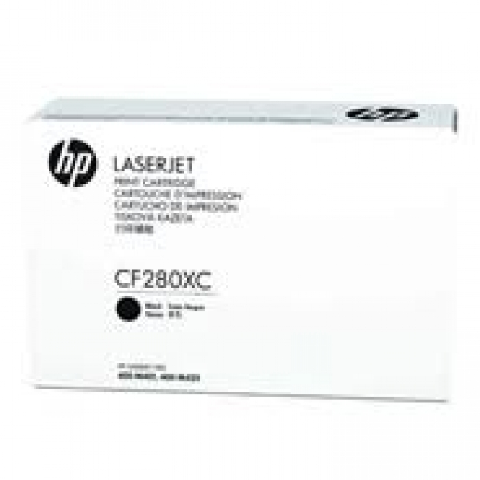 Mực in HP CF280XC High Yield Black Original LaserJet Toner Cartridge (CF280XC)