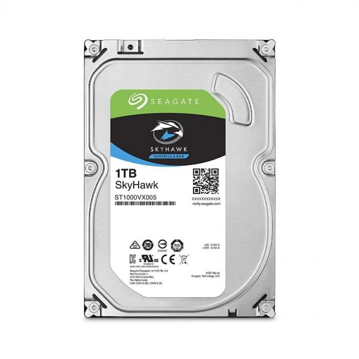 Ổ cứng HDD cho Camera Seagate SKYHAWK 1TB 3.5
