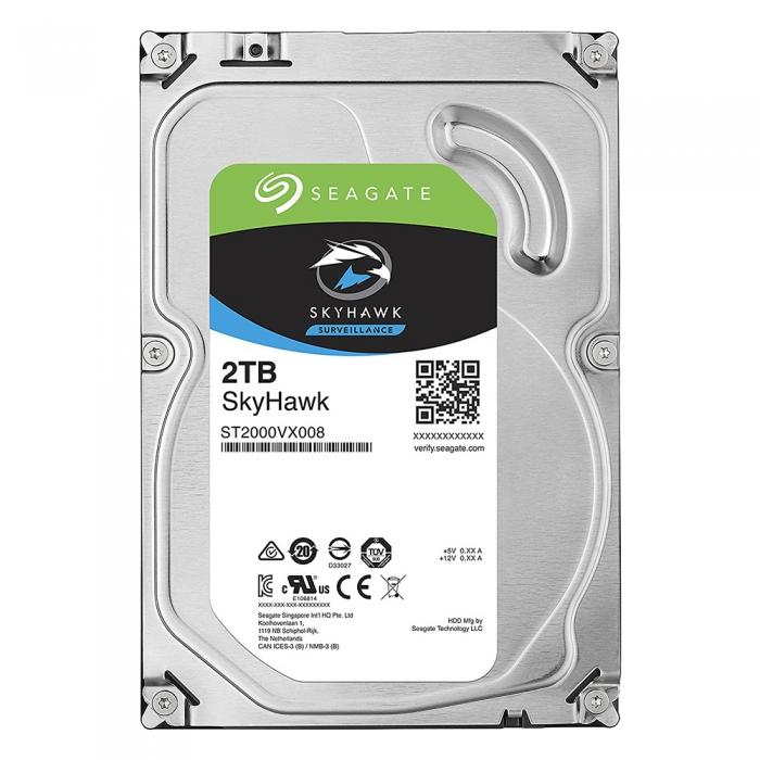 Ổ cứng HDD cho camera Seagate SKYHAWK 2TB 3.5