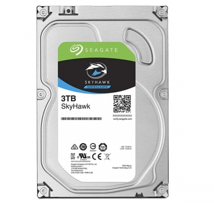 Ổ cứng HDD cho camera Seagate SKYHAWK 3TB 3.5