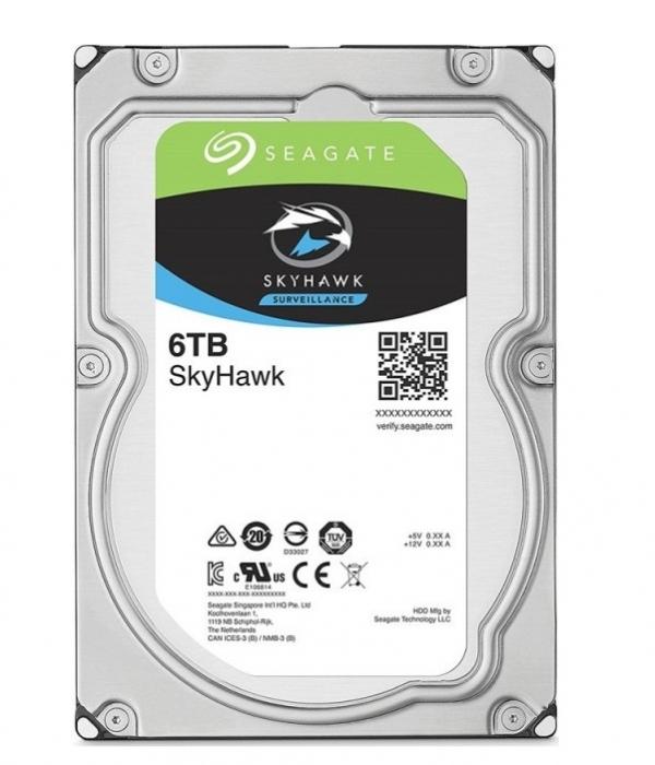 Ổ cứng HDD cho camera Seagate SKYHAWK 6TB 3.5