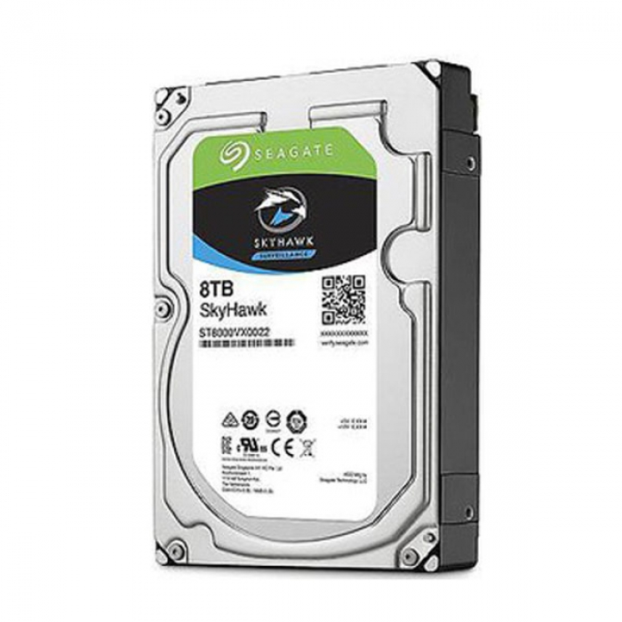 Ổ cứng HDD cho camera Seagate SKYHAWK 8TB 3.5