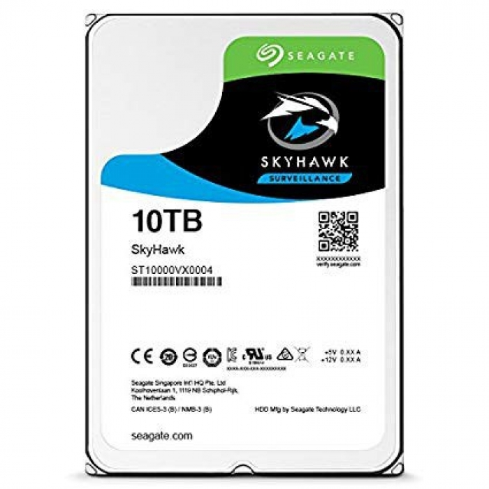 Ổ Cứng HDD Cho camera Seagate SKYHAWK AI 10TB 3.5