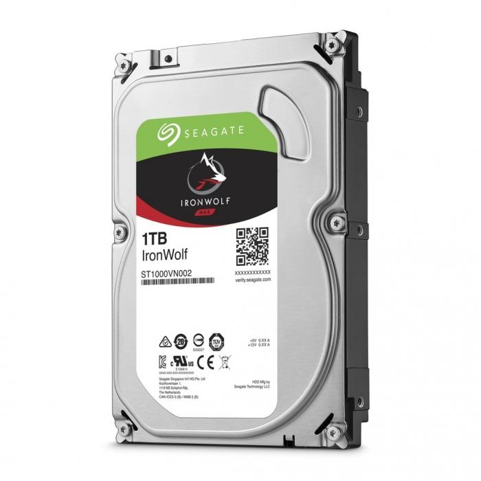 Ổ cứng HDD Segate IRONWOLF 1TB 3.5