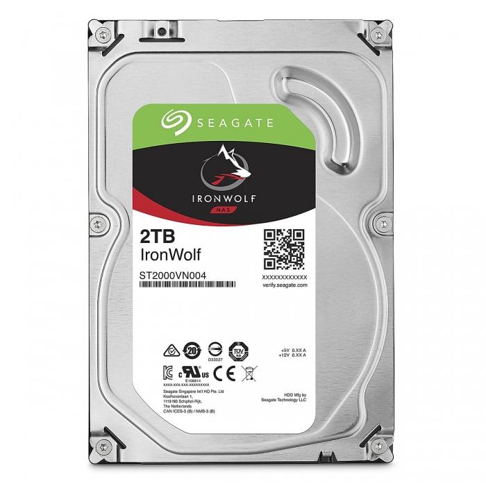 Ổ cứng HDD Seagate IRONWOLF 2TB 3.5