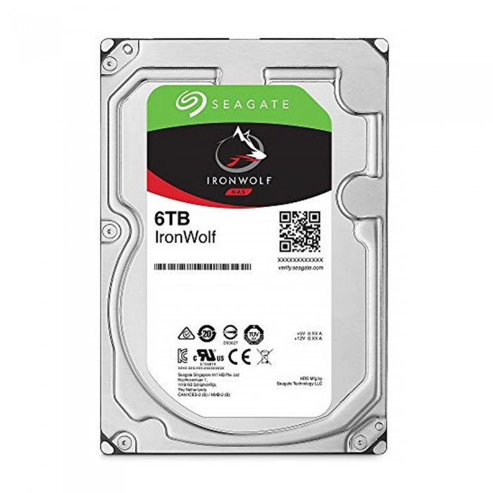 Ổ cứng HDD Seagate IRONWOLF 6TB 3.5