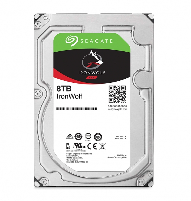 Ổ cứng HDD Seagate IRONWOLF 8TB 3.5