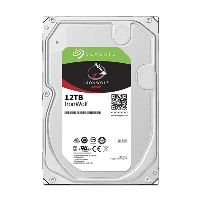 Ổ cứng HDD Seagate IRONWOLF 12TB 3.5