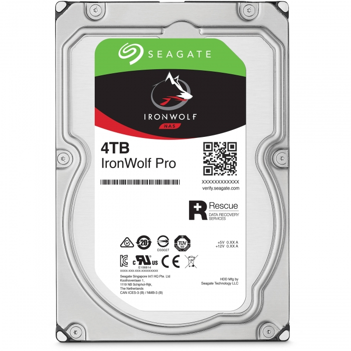 Ổ cứng HDD Seagate IRONWOLF PRO 4TB 3.5