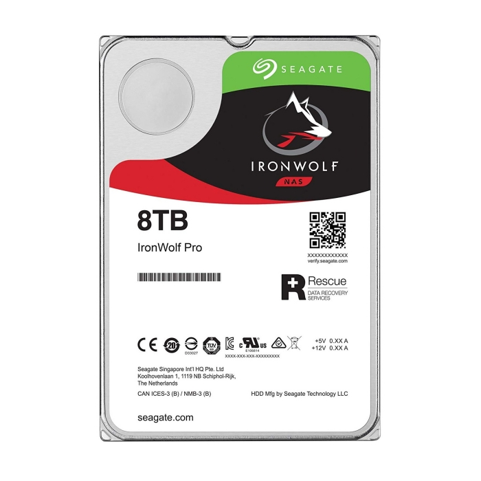 Ổ cứng HDD Seagate IRONWOLF PRO 8TB 3.5