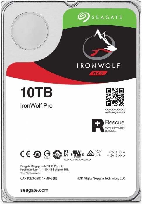 Ổ cứng HDD Seagate IRONWOLF PRO 10TB 3.5