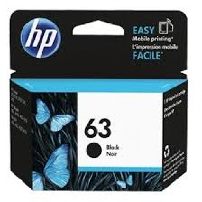 Mực in phun HP 63 Black Original Ink Cartridge (F6U62AA)