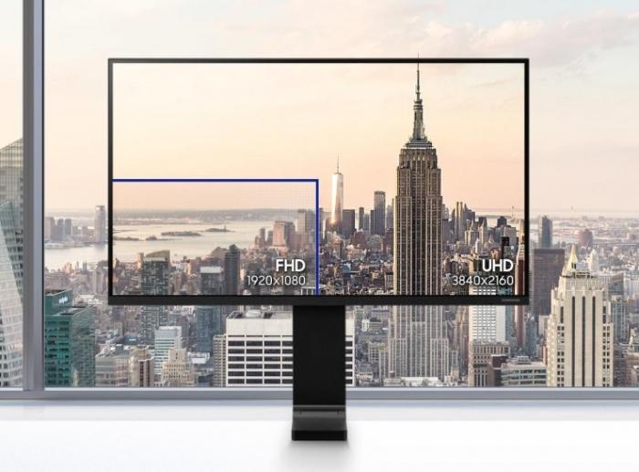 Thiết bị tin học - Màn hình LCD Samsung 31.5'' LS32R750UEEXXV