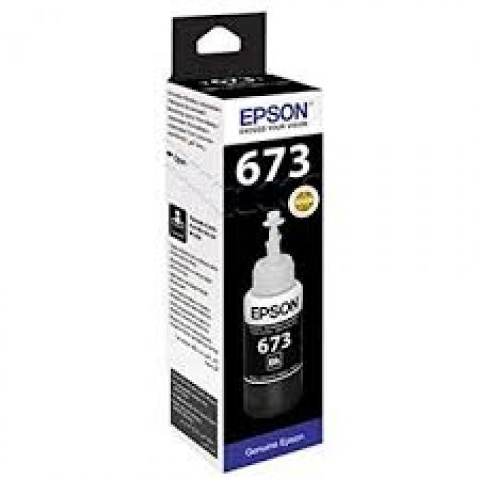 Mực in Epson T673100 Black Ink Cartridge (T673100)