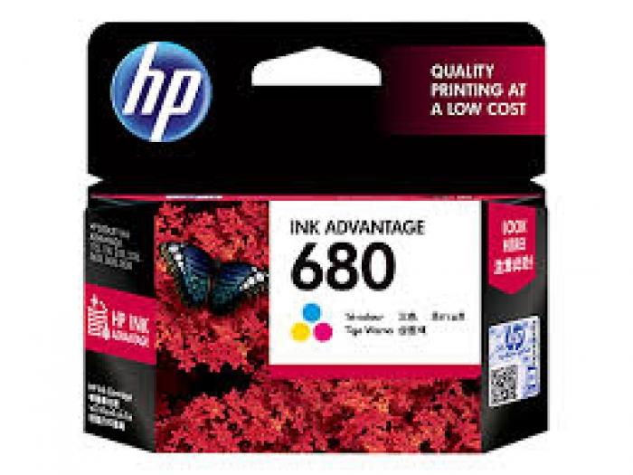 Mực in HP 680 Tri-color Original Ink Advantage Cartridge (F6V26AA)