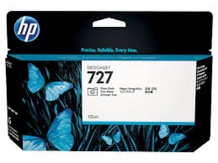 Mực in HP 727 130-ml Photo Black Designjet Ink Cartridge (B3P23A)