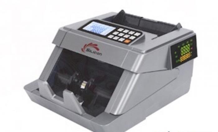 Máy đếm tiền thông minh phát hiện tiền siêu giả Silicon MC-7600