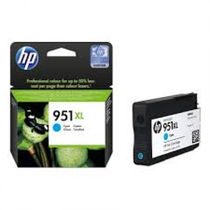 Mực in HP 951XL Cyan Officejet Ink Cartridge (CN046AE)