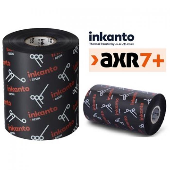Mực in mã vạch Resin Ribbon Inkanto AXR7+