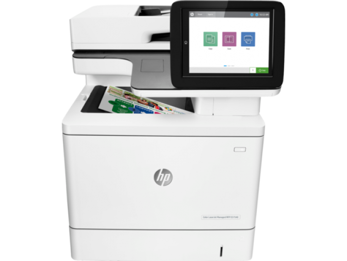 Máy in màu đa chức năng HP Color LaserJet Managed Flow E57540c