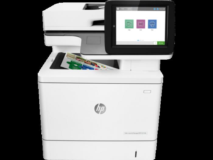 Máy in màu đa chức năng HP Color LaserJet Managed E57540dn