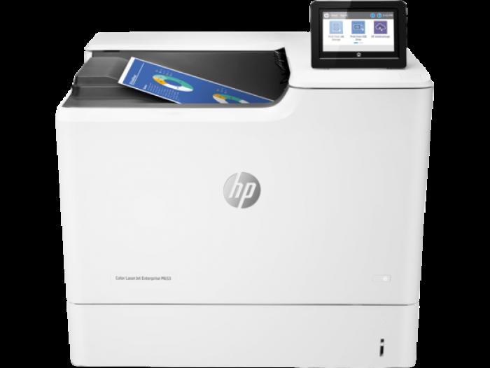 Máy in HP Color LaserJet Enterprise M653dn