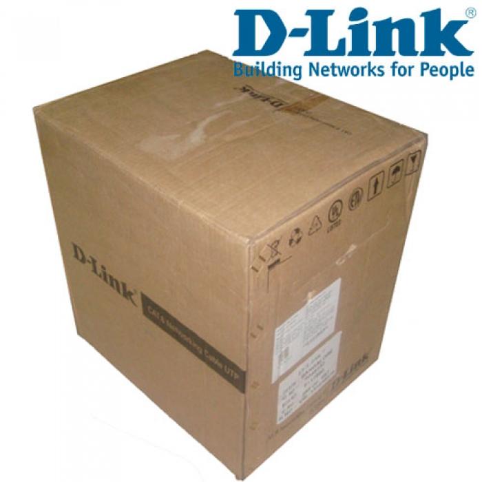 Cable Dlink Cat 6 UTP/ 305M