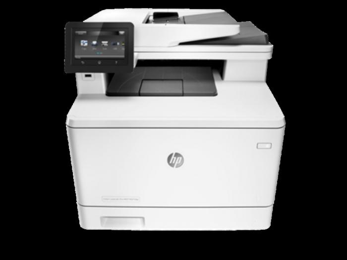 Máy in đa chức năng HP Color LaserJet Pro M477fdw