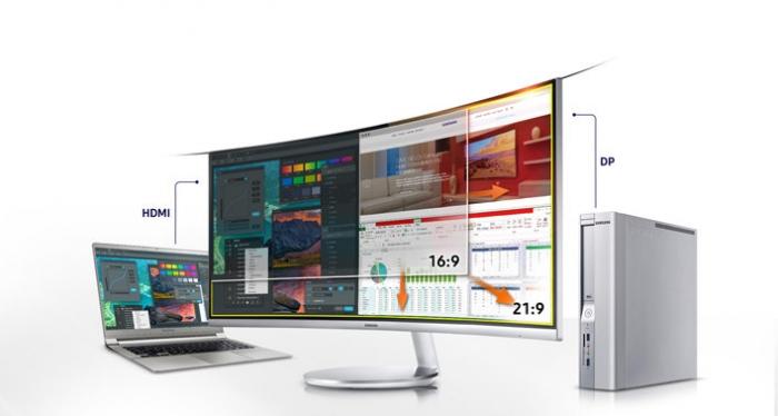 Thiết bị tin học - Màn Hình cong Samsung 34