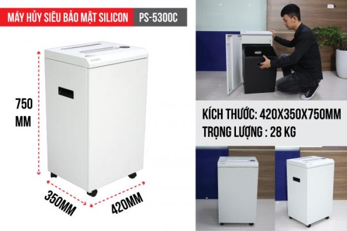 Máy hủy tài liệu Silicon PS-5300C