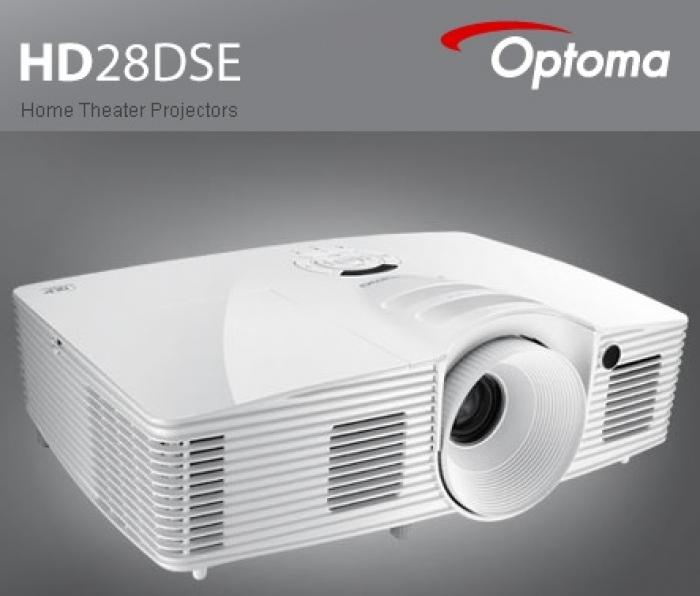 Máy chiếu giải trí 3D-Full HD OPTOMA HD28DSE