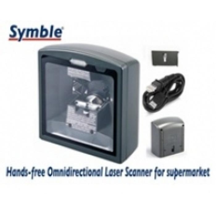 Máy in mã vạch Symble âm bàn đa tia SB-6258