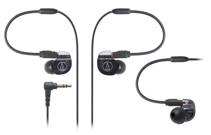 Tai nghe Audio-techncia In-ear chuyên nghiệp dual Balanced Armature driver ATH-IM02