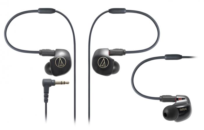 Tai nghe Audio-Techncia In-ear chuyên nghiệp quad Balanced Armature driver ATH-IM04